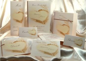 Hochzeitskarten-Set
