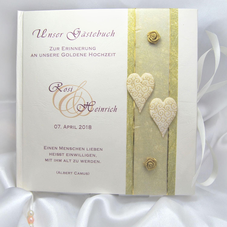 Wwwmy Own Storyde Gästebuch Zur Goldhochzeit Goldene Hochzeit