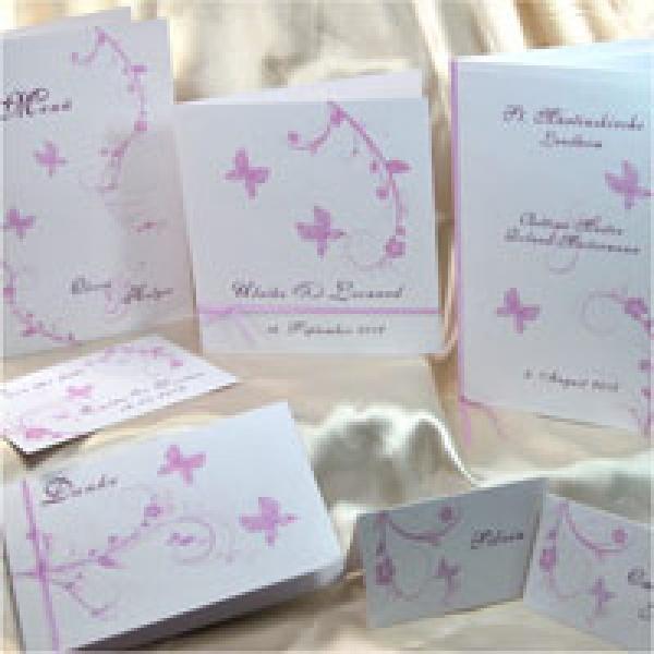 Www My Own Story De Einladungskarte In Flieder Aus Dem
